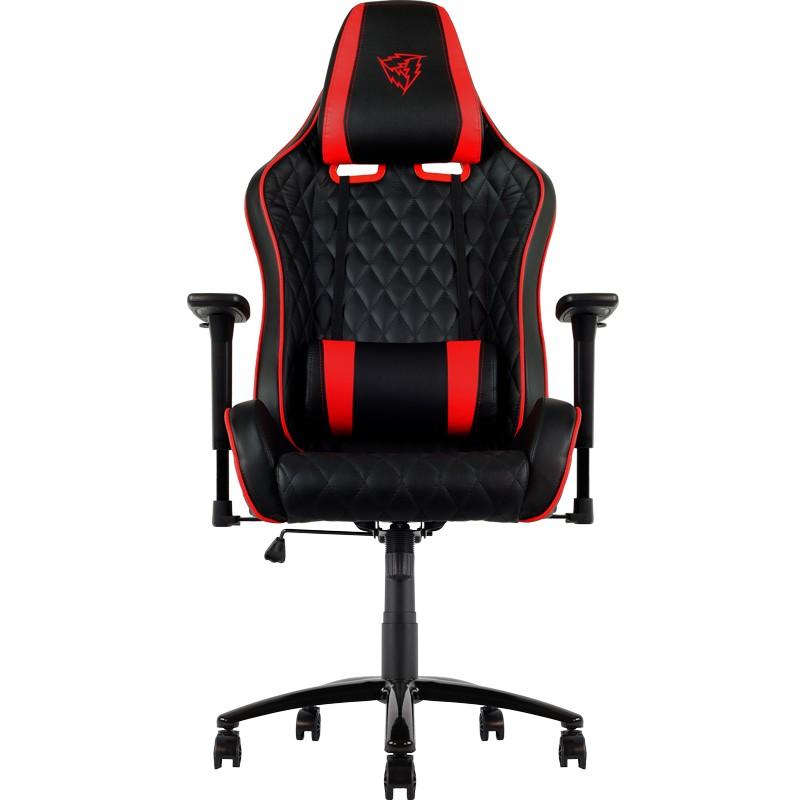 Cadeira THUNDERX3 Profissional, Back+Neck cushion, Black/Red - TGC31BR