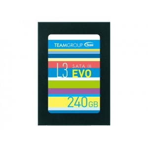 DISCO SSD TEAM GROUP 240GB SATA3 L3 EVO - 530R/500W