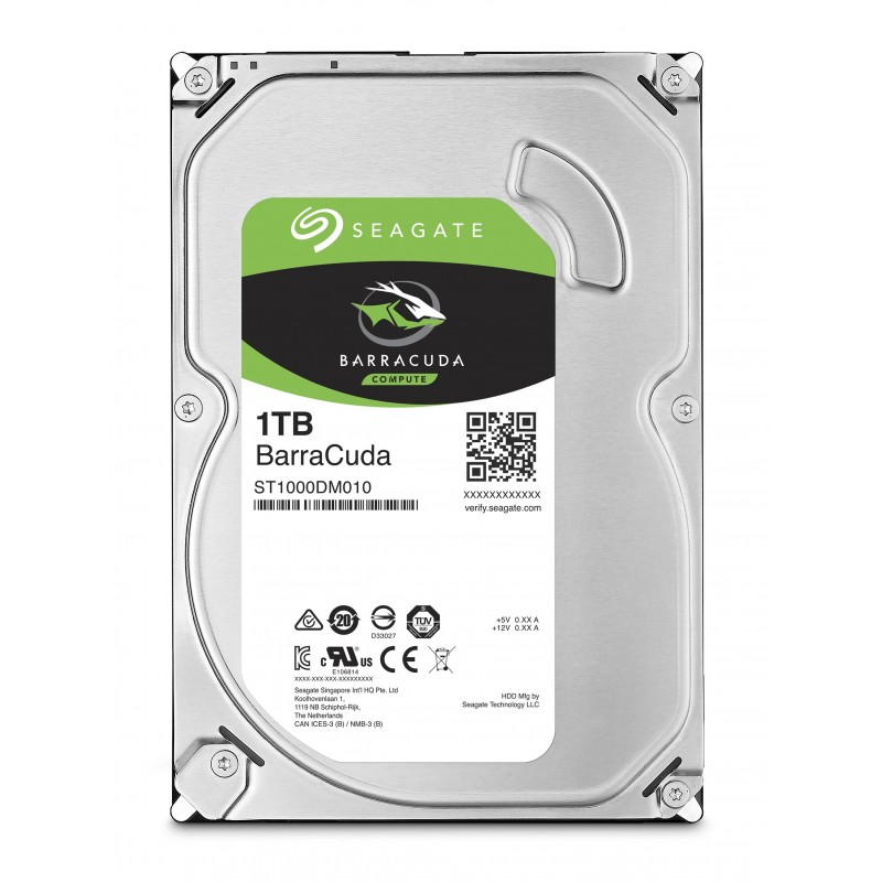 DISCO HDD SEAGATE BARRACUDA 1TB 7200RPM 3.5''
