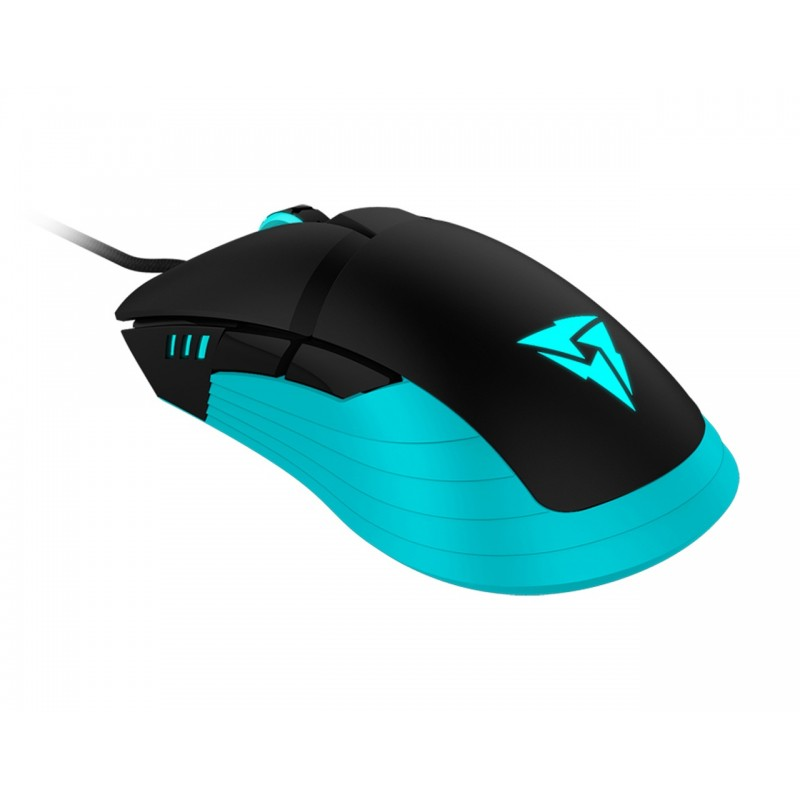 Rato THUNDERX3 Pro Gaming RM5 5000DPI PWM3325, HEX RGB Lighting, 6 botões - RM5HEX