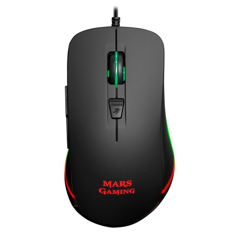 Rato MARS GAMING  9.800 DPI, chroma RGB lighting, 6 buttons-MM118