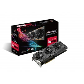 PLACA GRAFICA ASUS STRIX RX580 OC 8GB GAMING
