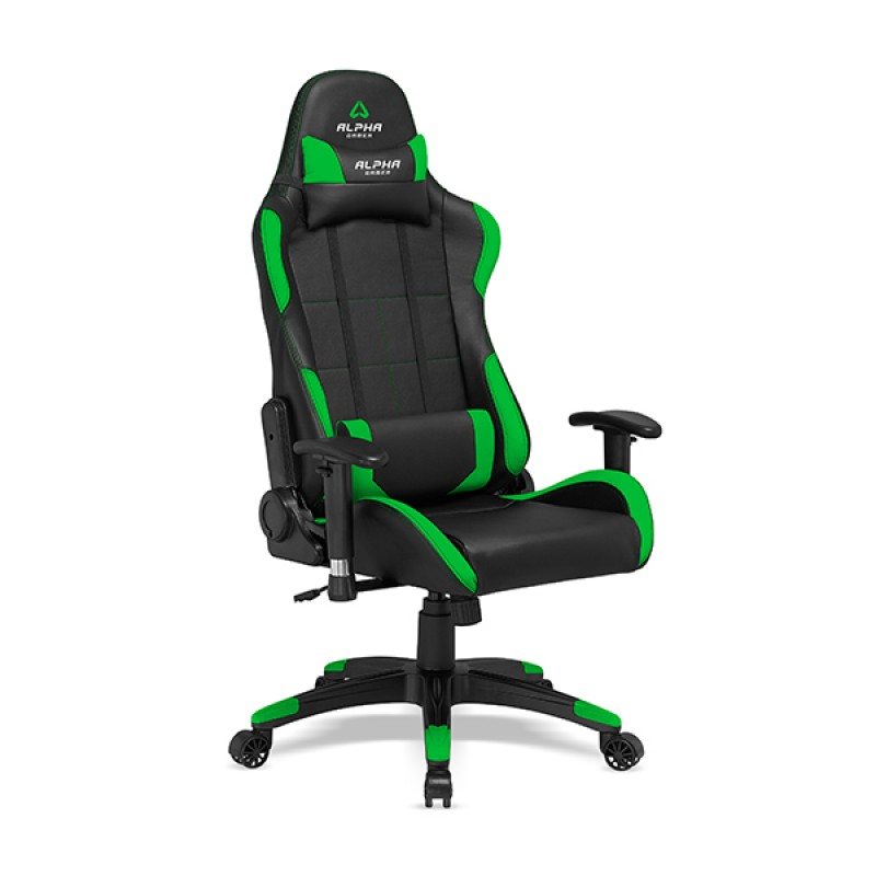 CADEIRA ALPHA GAMER VEGA BLACK / GREEN