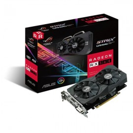 VGA ASUS STRIX RX 560 4GB 1DP / 1 HDMI / 1 DVI - ROG-STRIX-RX560-4G-GAMING