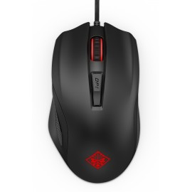 Rato HP OMEN 600 - Black / Red