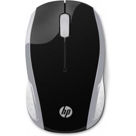 Rato HP sem fios 200 - Prateado Pike