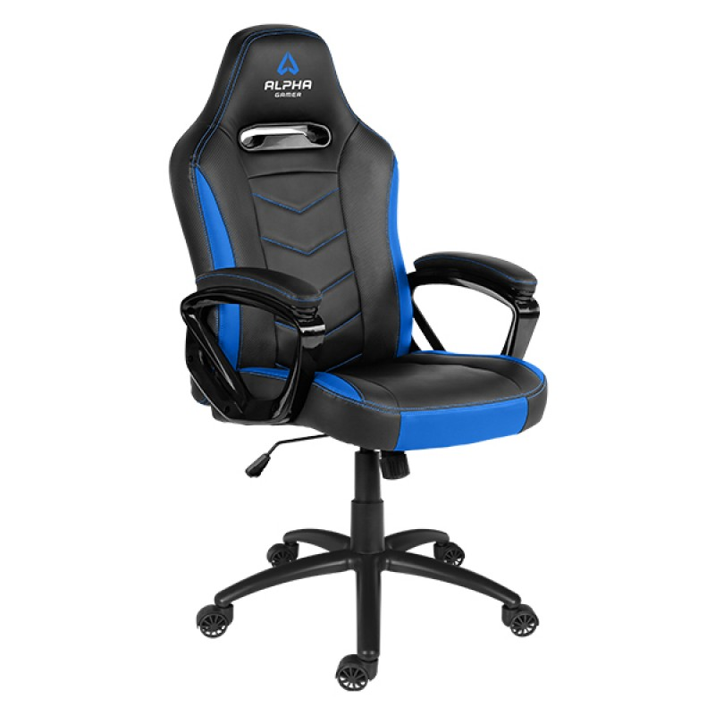 CADEIRA ALPHA GAMER KAPPA BLACK / BLUE