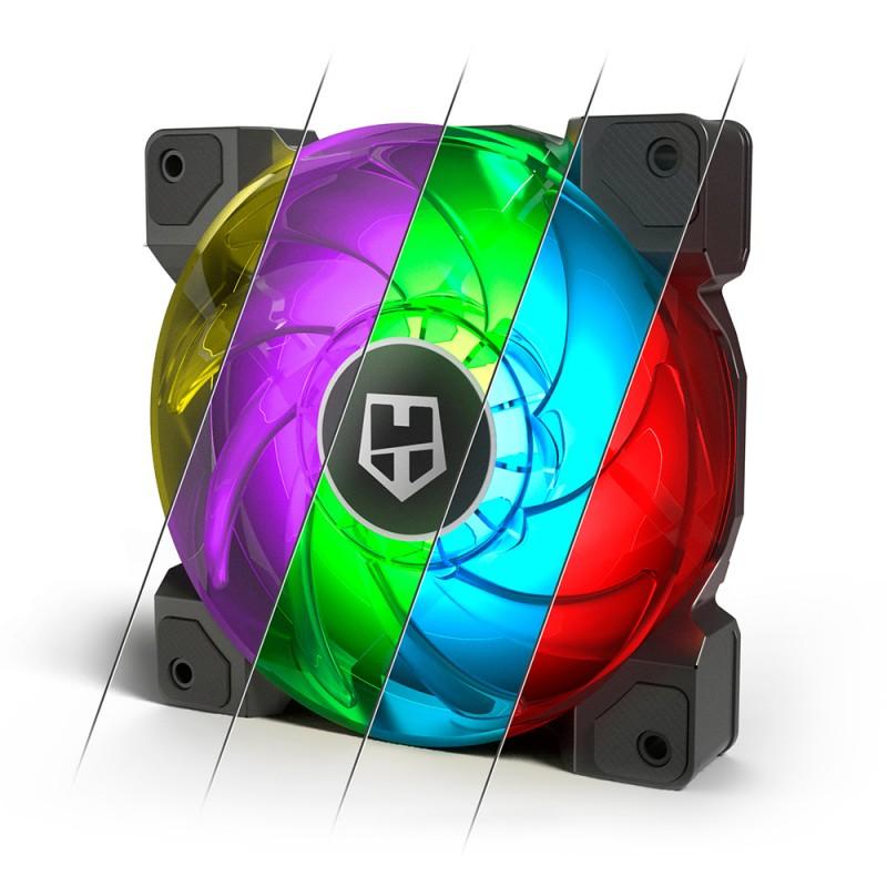 Kit Ventoinhas Nox H-Sync RGB Lightning