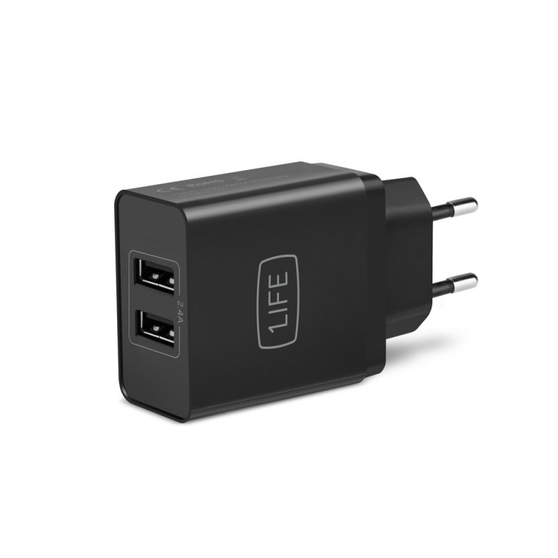 Adaptador 1Life pa:dual USB