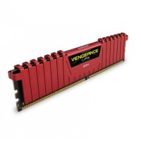 MEMORIA CORSAIR DDR4 8GB 2400MHZ VENGEANCE LPX RED HEAT