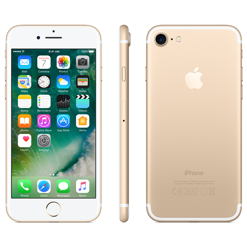 Smartphone Apple iPhone 7 32GB Gold Livre (Grade A+ Usado)