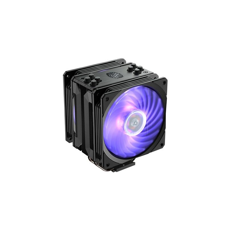 CPU COOLER COOLER MASTER HYPER 212 RGB EDIÇÃO PRETO