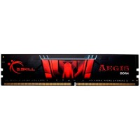 Memória RAM G.Skill AEGIS DDR4 8GB 3000Mhz CL16 - Black / Red