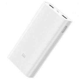 Powerbank Xiaomi Mi 2C 20000mAh Prateado / Branco