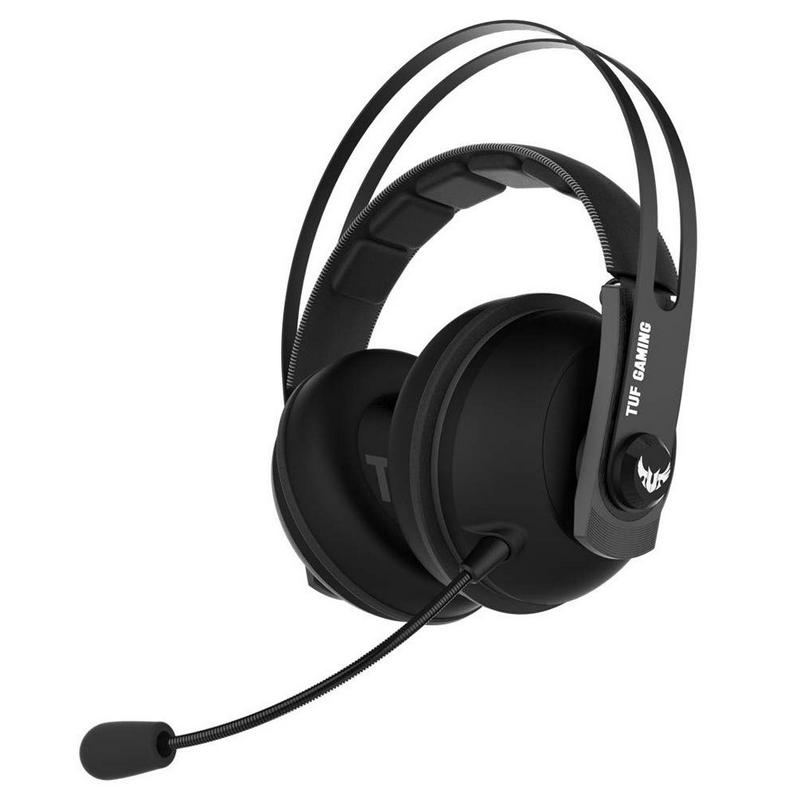 Headset Asus TUF Gaming H7 Core Preto/Cinza