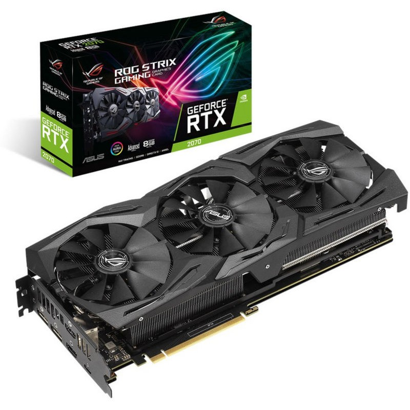 Placa Gráfica Asus GeForce RTX2070 ROG Strix Advanced 8GB GDDR6