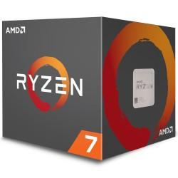 Processador AMD Ryzen 7 2700 3.2GHz Turbo Cooler Wraith Spire com LED