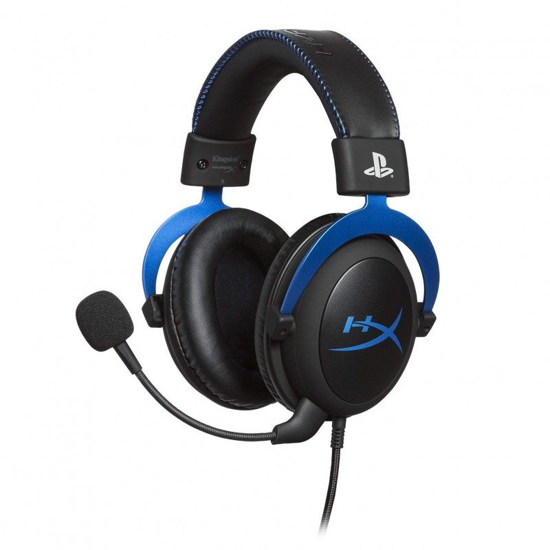 Headset Kingston HyperX Cloud Gaming - Blue PS4
