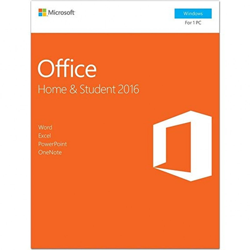 SOFTWARE MICROSOFT OFFICE HOME & STUDENT 2016 PT