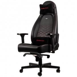 Cadeira Gaming Noblechairs ICON PU Leather Preto/Vermelho