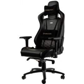 Cadeira Gaming NobleChairs Epic Black/Gold