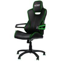 Cadeira NITRO Concepts E200 Race Gaming Preto/Verde