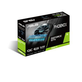Placa Grafica Asus GTX 1660 TI PH OC 6GB DDR6