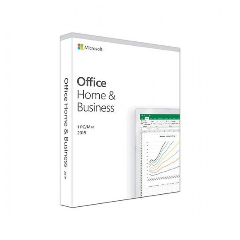 Microsoft Office Home and Business 2019 Portuguese EuroZone Medialess