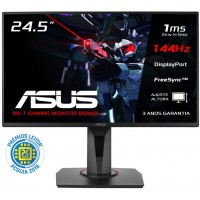 Monitor Asus 24.5 Gaming VG258Q 1ms 144Hz + Oferta Jogo Call Of Duty Black Ops 4