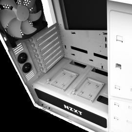 Caixa ATX NZXT H440 v2 Branco / Preto Janela Acrílica