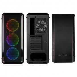 Caixa E-ATX Kolink Levante LED RGB Preto Vidro