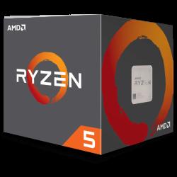 Processador AMD Ryzen 5 2600X Turbo Cooler Wraith Spire