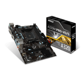 Motherboard MSI A320M Pro-VD/S AM4