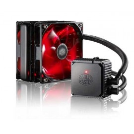 Cooler Cpu Cooler Master SEIDON 120V V3 PLUS, DUAL 120MM XTRAFLO INCLUDED, RED LED