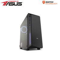 Pc Desktop Gaming Top Budget AMD - Powered by Asus