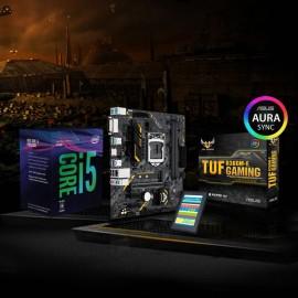TUF POWER BUNDLE - I5 8400 + Asus TUF B360M-E + SSD Team Group 240GB